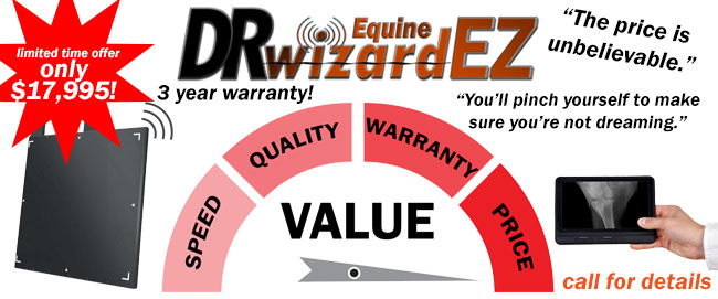 wireless equine dr flat panel